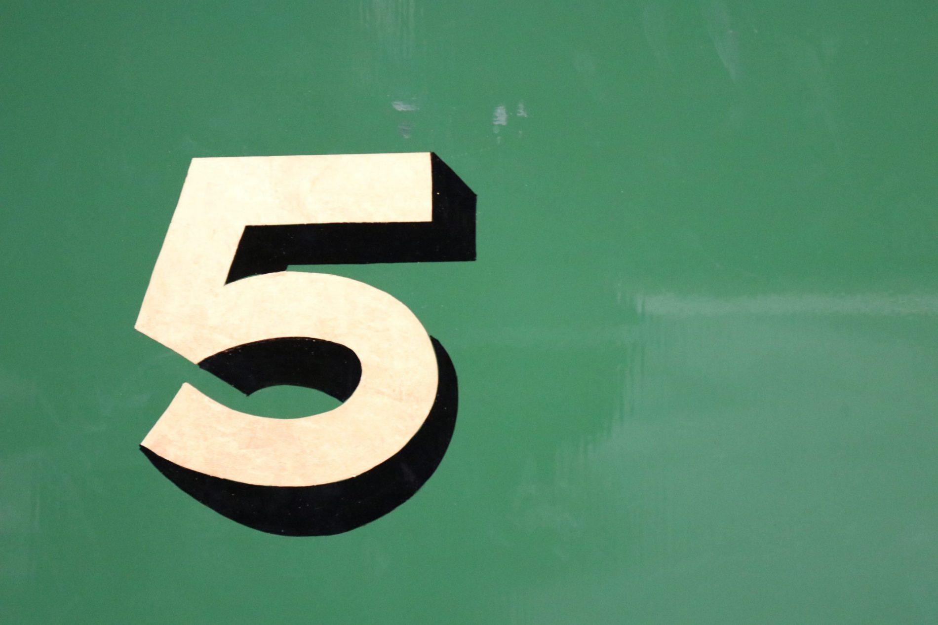 Top 5 leendoelen